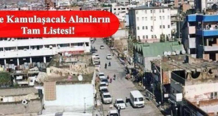 Şırnak Silopi 'de Bu 6 Mahalle İçin  Acele Kamulaştırma Kararı Çıktı