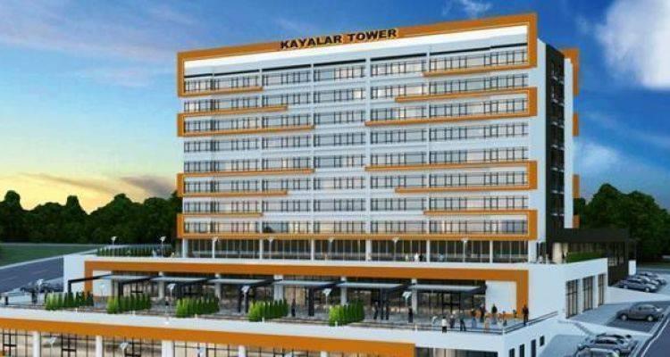 Kayalar Tower Projesinde 165 Bin TL'ye 1+1