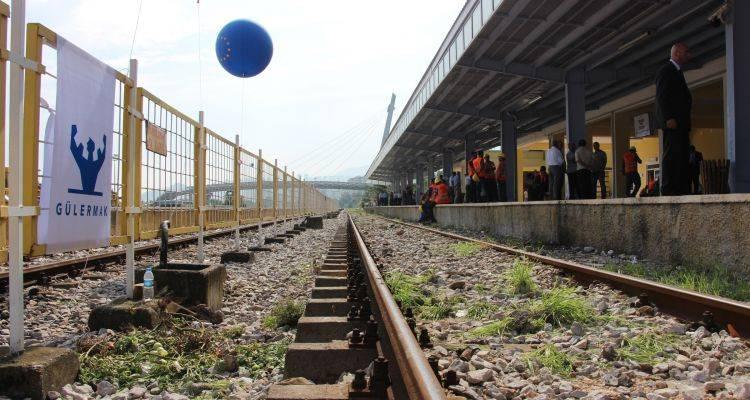 Samsun Kalın Demiryolu Hattında İlk Ray Sökümü Başladı!