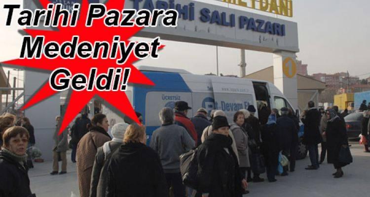 Kadıköy Salı Pazarı 29 Eylül'de Yeni Adresinde!