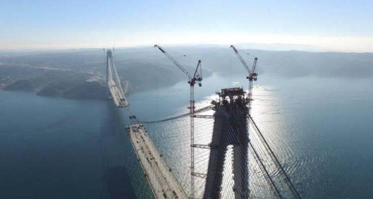 Yavuz Sultan Selim Köprüsü'nde Son 247 Metre
