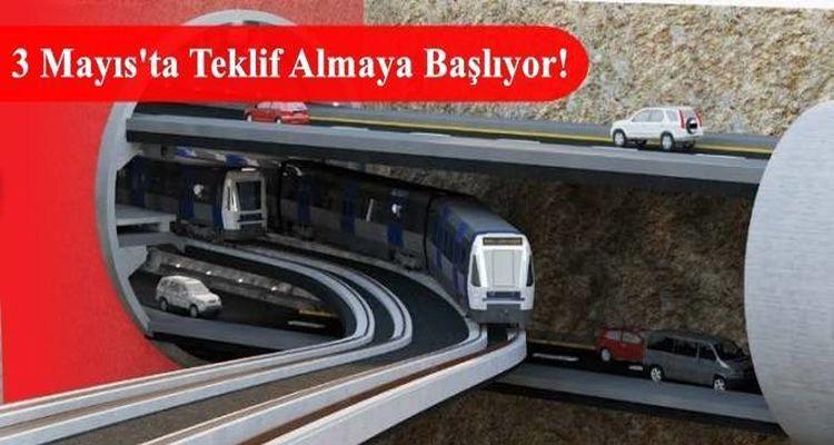 3 Katlı Büyük İstanbul Tüneli Projesinde Süreç Başlıyor