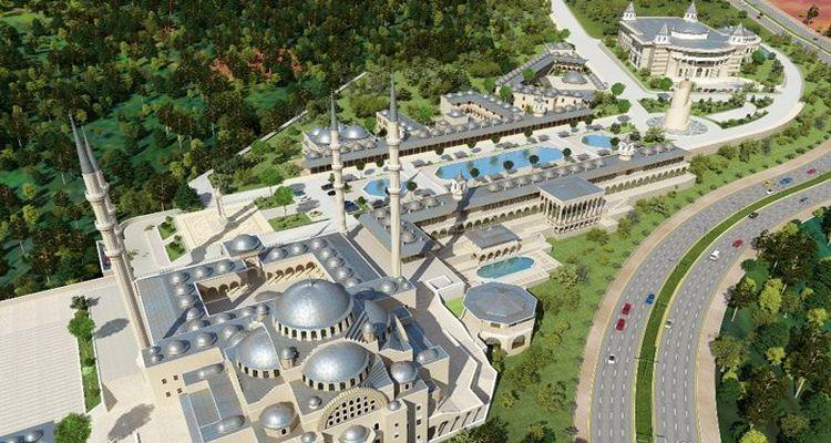 Emlak Konut Hoşdere Hayat Camii'de Yer Teslimi Yapıldı
