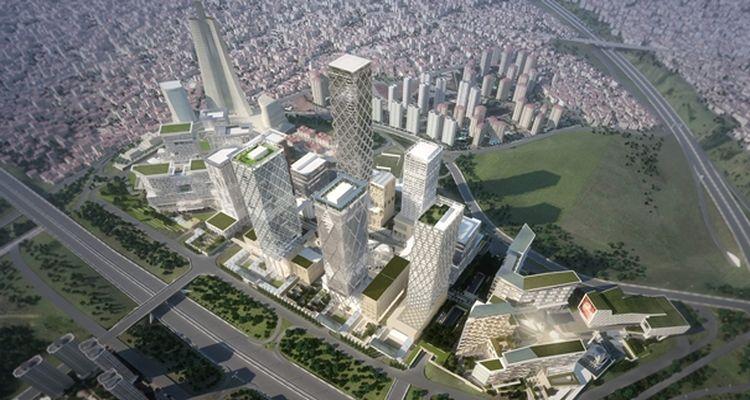 İstanbul Finans Merkezi'nde Dükkanların Yapı Ruhsatı Alındı