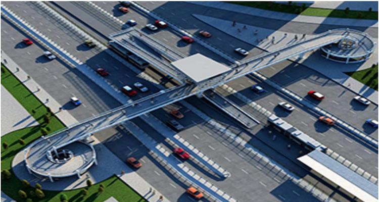 Sefaköy Yeni Metrobüs Yaya Üst Geçiti Bu Pazar Açılıyor