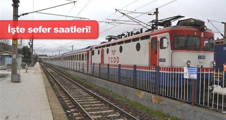 Trakya Bölgesel Tren Seferleri 20 Ekim'de Başlıyor!