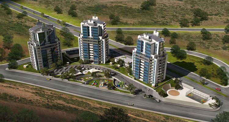 Kent Ariva Başakşehir'de 3 Blok Halinde Yükseliyor