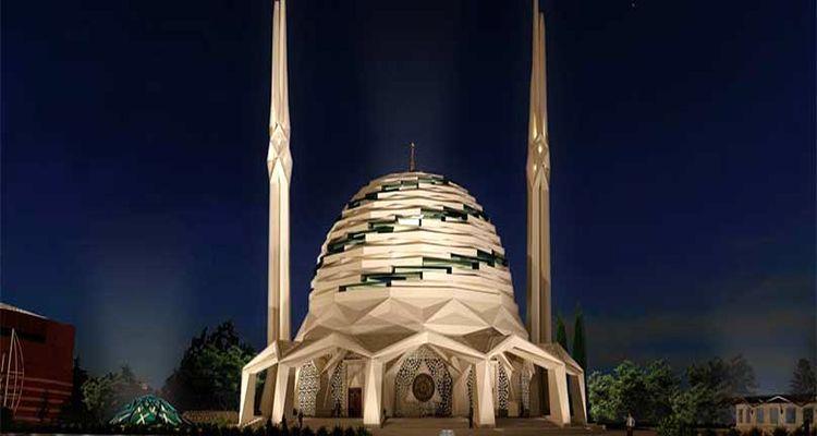 Türkiye'nin İlk Çelik Camisi Üsküdar'da İnşa Ediliyor