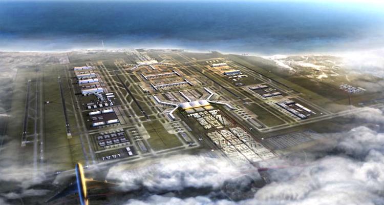 Yeni Havalimanı Projesinin Temeli Atılıyor