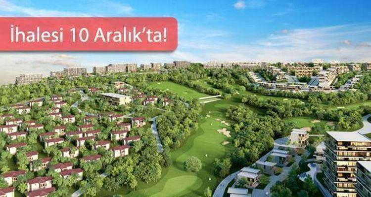 Ankara Golfkent Projesinde Satılık Arsalar ve Konutlar