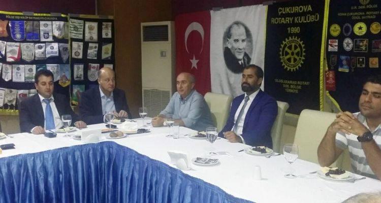 Çukurova Rotary Kulübü'nde İş Sağlığı ve Güvenliği Tartışıldı!