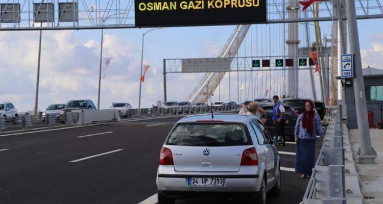 Osmangazi Köprüsü'nde Bunu Yapana Ceza Var