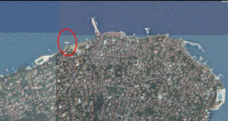 Heybeliada Deniz Otobüsü İskelesi İmar Planı Askıda