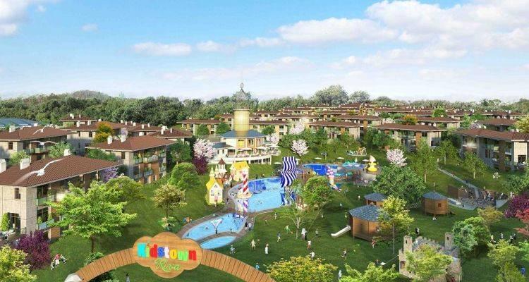 Kidstown Riva Projesi 136 Konuttan Oluşuyor