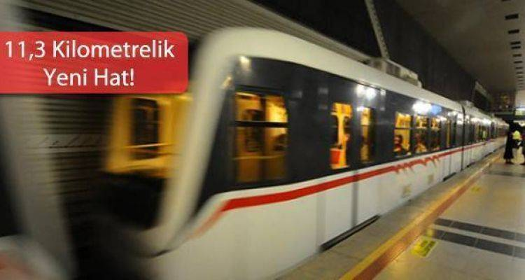 Kağıthane Eyüp Esenler Metro Hattı Başlıyor