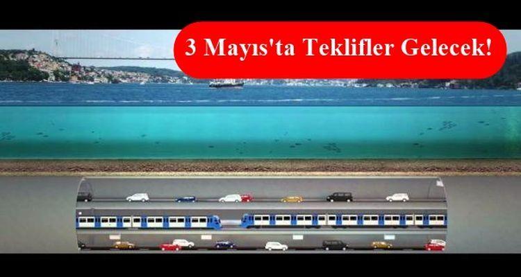 3 Katlı Büyük İstanbul Tüneli İçin 6 Firma Yarışacak