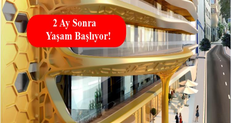 Dap Yapı'dan Taksim'in Göbeğinde 72 Ay 0 Faizle Ev
