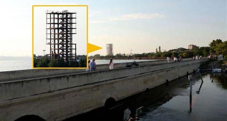 Küçükçekmece'deki 'Esrarengiz Kule'nin Sırrı Çözüldü