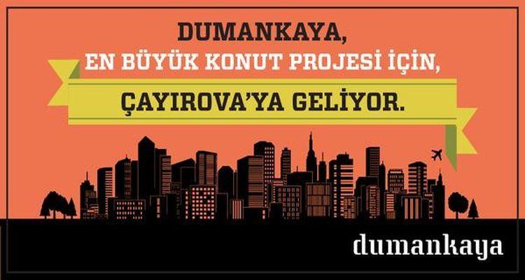 Dumankaya Çayırova Projesi Ön Talep Toplamaya Devam Ediyor!