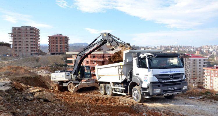 Trabzon Büyükşehir Belediyesi Yeni İmar Yolları Açıyor