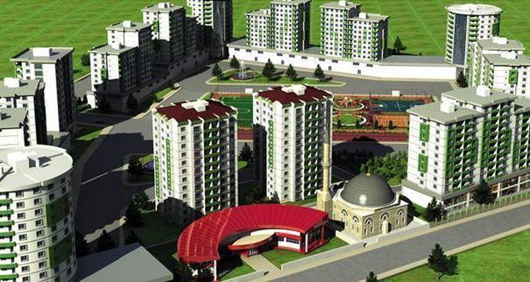 Doğu'nun En Büyük Kentsel Dönüşüm Projesi Yükseliyor