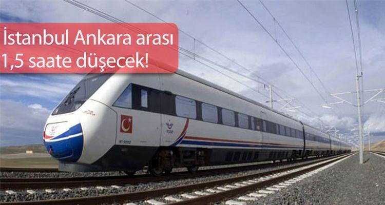 Sürat Hızlı Tren Projesi Geliyor