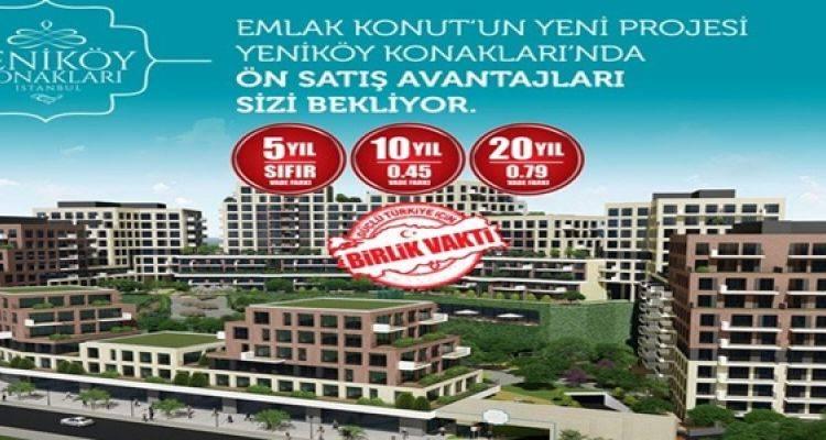 Yeniköy Konakları Satışa Çıktı!