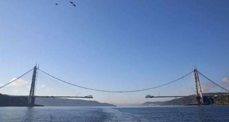 3. Köprü'de Son 439 Metre Kaldı