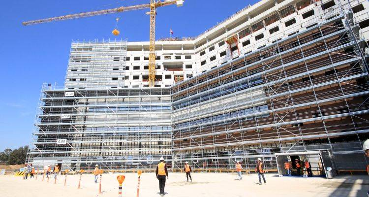 Adana Entegre Sağlık Kampüsü İnşaatı'nda Son Durum