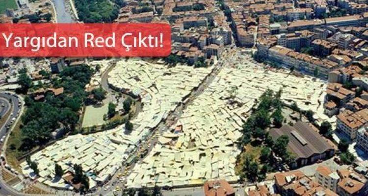 Kadıköy Kuşdili Çayırı AVM Projesi Yargıya Takıldı