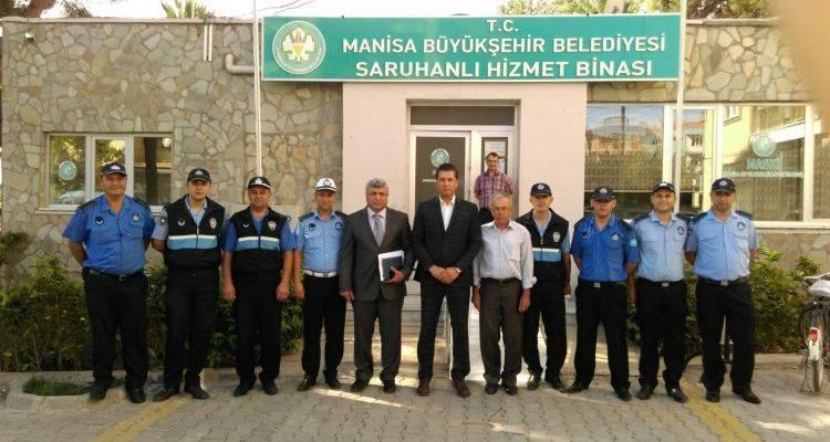Manisa Saruhanlı'da Kaldırım İşgaline Geçit Yok!