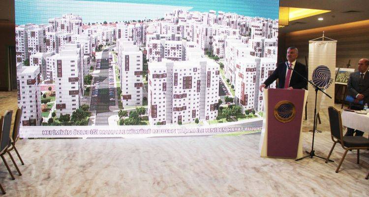 Seyhan'da 4 Bin 80 Konutluk Kentsel Dönüşüm Projesi