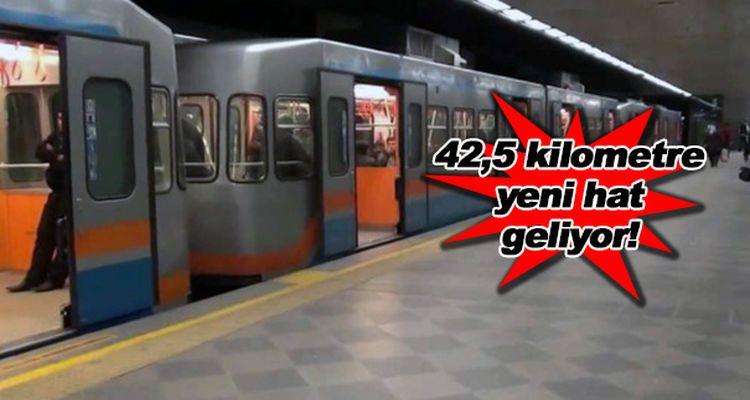 Eylül Ayında İhaleye Çıkacak 3 Metro Hattı!