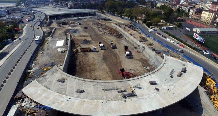 Avrasya Tüneli Projesi Havadan Görüntülendi