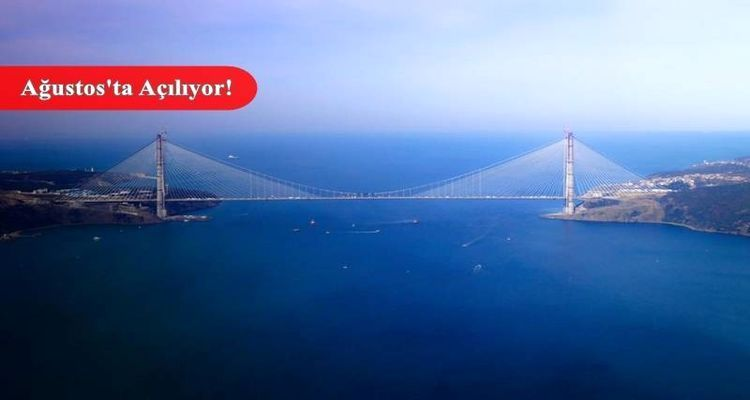 3. Köprünün Uzaydan Görüntüsü