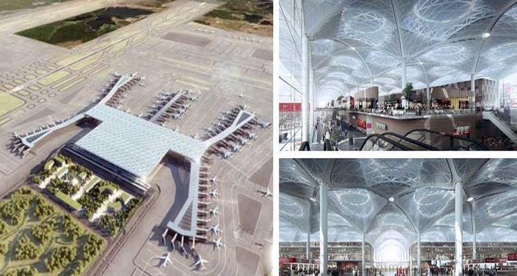 Üçüncü Havalimanından En Son Görüntüler!