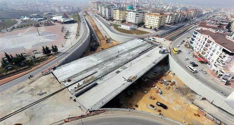 Türkiye'nin En Uzun Art Germe Köprüsünde Sona Gelindi