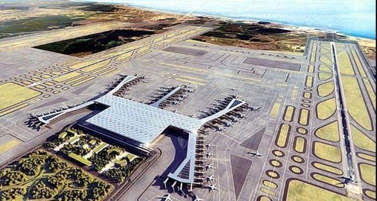 3. Havalimanında İnşaat Çalışmalarına Hız Verildi