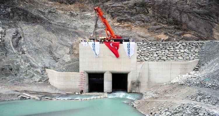 Artvin Barajı Ocak 2016'da Elektrik Üretmeye Başlayacak!
