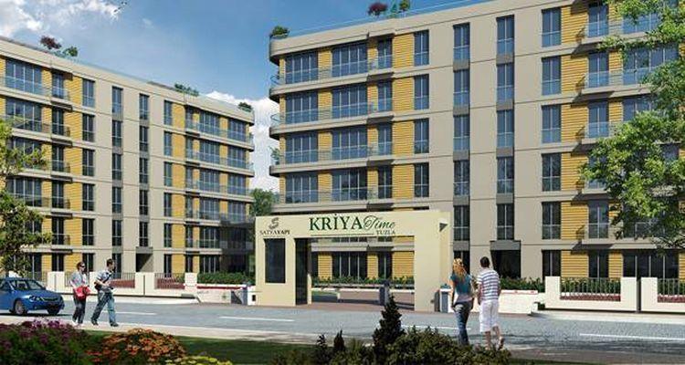 Kriya Time Tuzla'da 165 Bin TL'ye 1+1