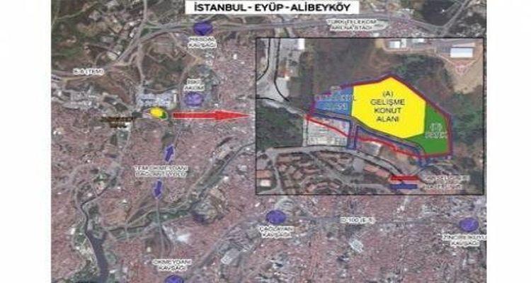 Emlak Konut Eyüp Alibeyköy Projesinde İmzalar Atıldı