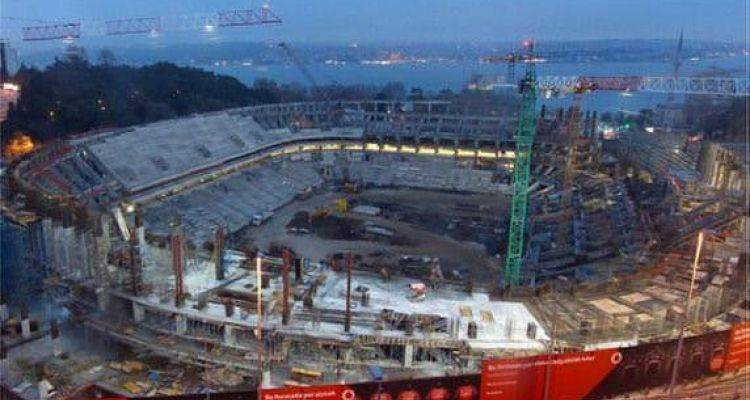 Vodafone Arena Son Hali Ocak 2016