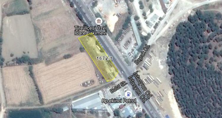 İzmir Tire Belediyesi'nden Satılık Arsa