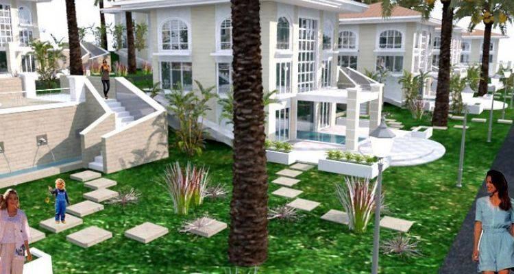 Değişim Villaları Projesi 20 Lüks Villadan Oluşuyor