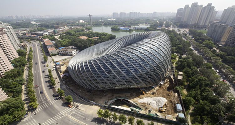 Beijing'de Hayranlık Uyandıran Medya Merkezi