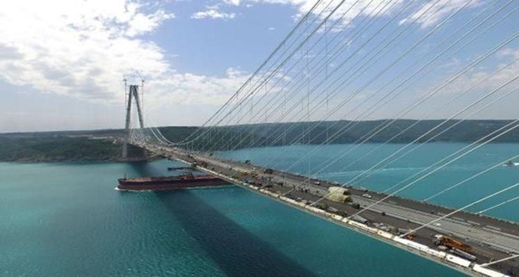 Yavuz Sultan Selim Köprüsü'nde Asfaltlama Çalışmaları Tamamlandı