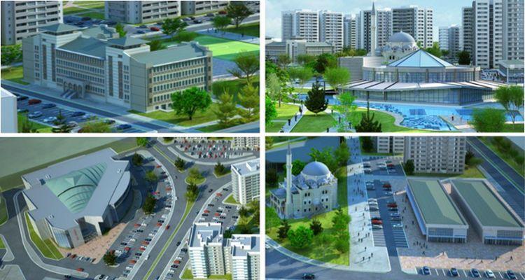 TOKİ'den Sincan Saraycık'a 2 bin 767 Konutluk Yeni Proje