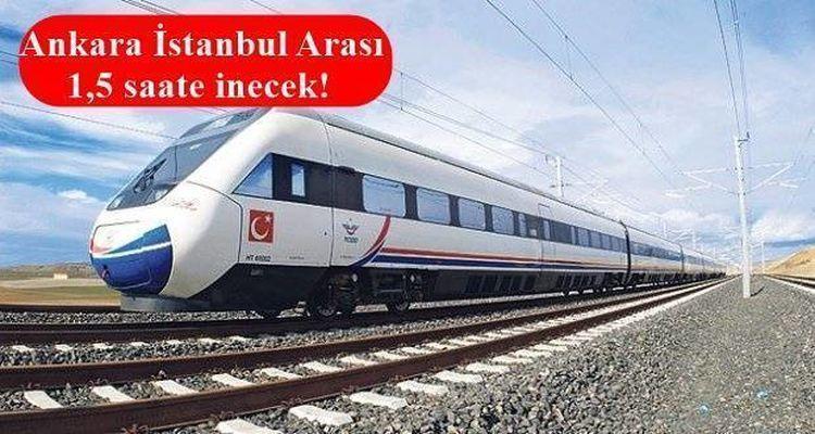 Sincan Çayırhan İstanbul Demiryolu Projesi Başlıyor
