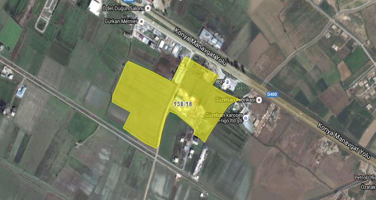 Antalya Büyükşehir Belediyesi'nden 22.4 Milyon TL'ye Satılık 2 Arsa