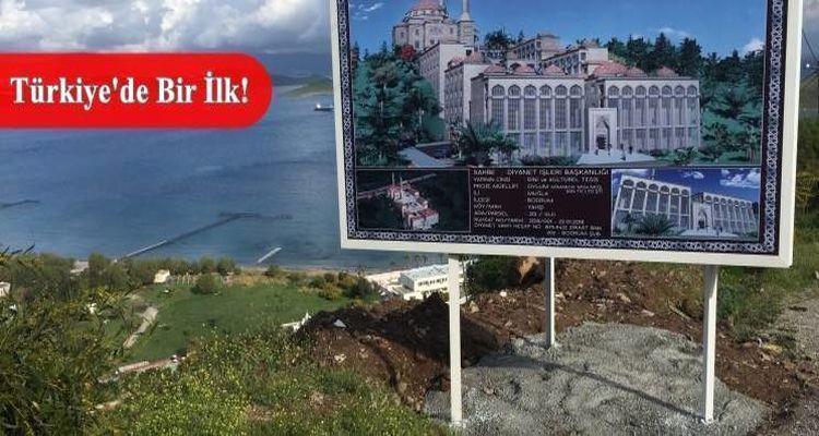 Diyanet'ten Bodrum'a İslam Tanıtım ve Bilgilendirme Merkezi